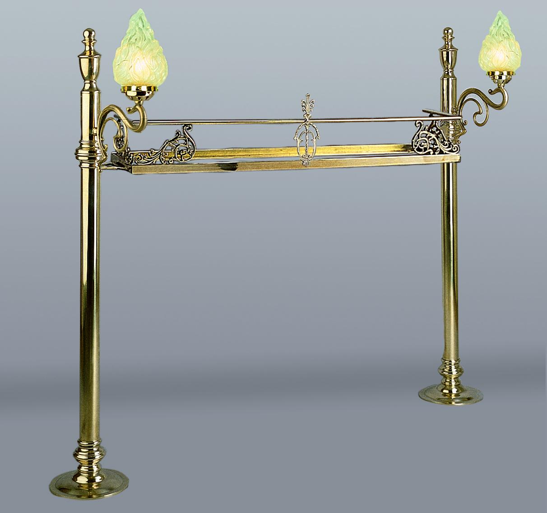 Brass Bartop Gantry