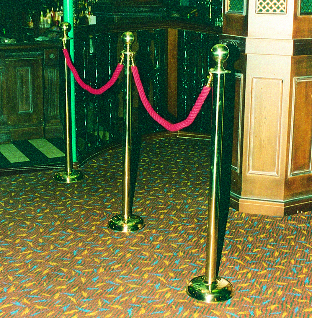 Brass Rope Posts