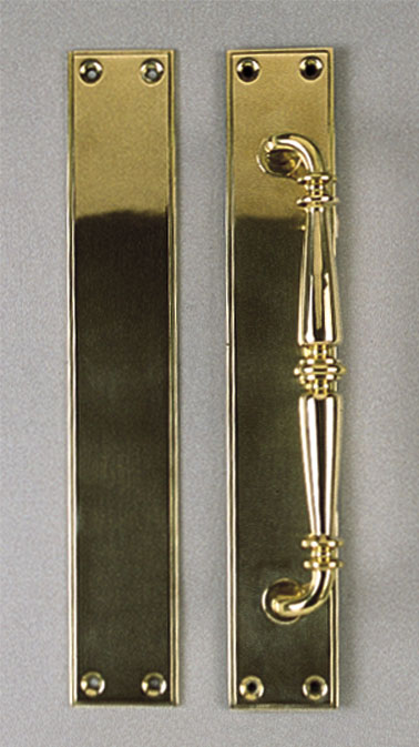 Brass Handles and Push Plates