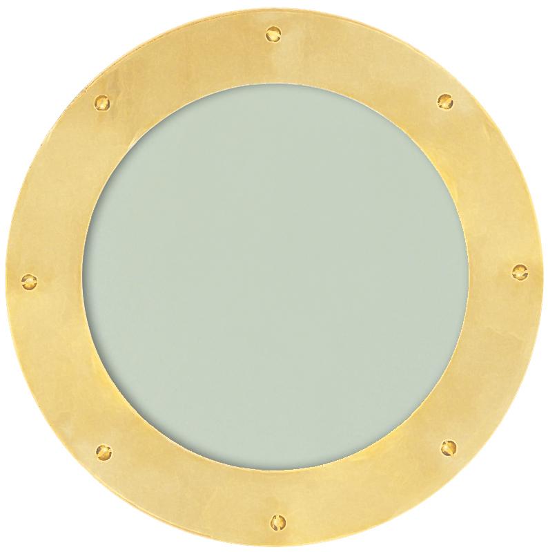 Satin Brass Portholes