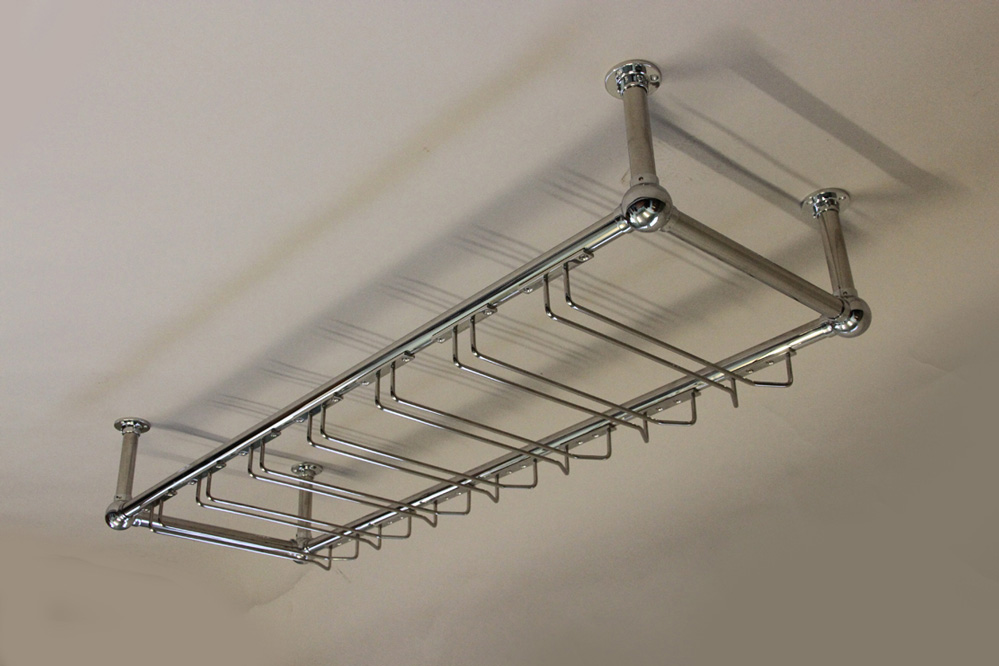 Overbar Glass Racks Bar Fittings