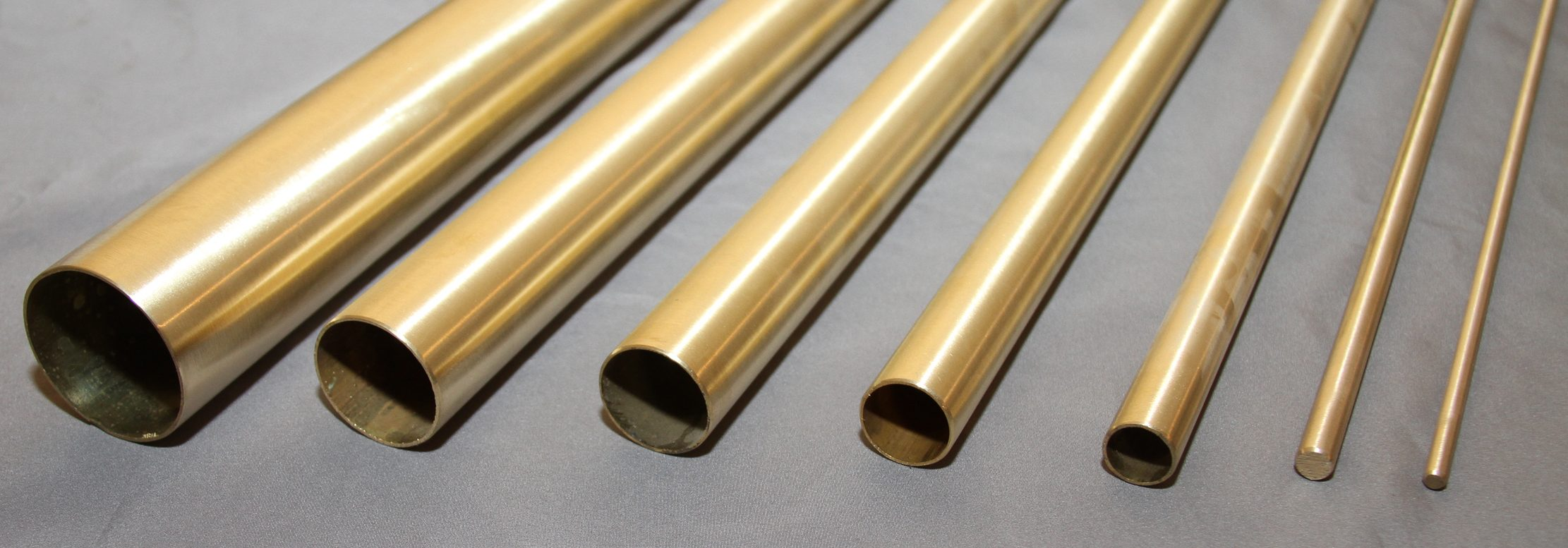 Satin Brass Tube
