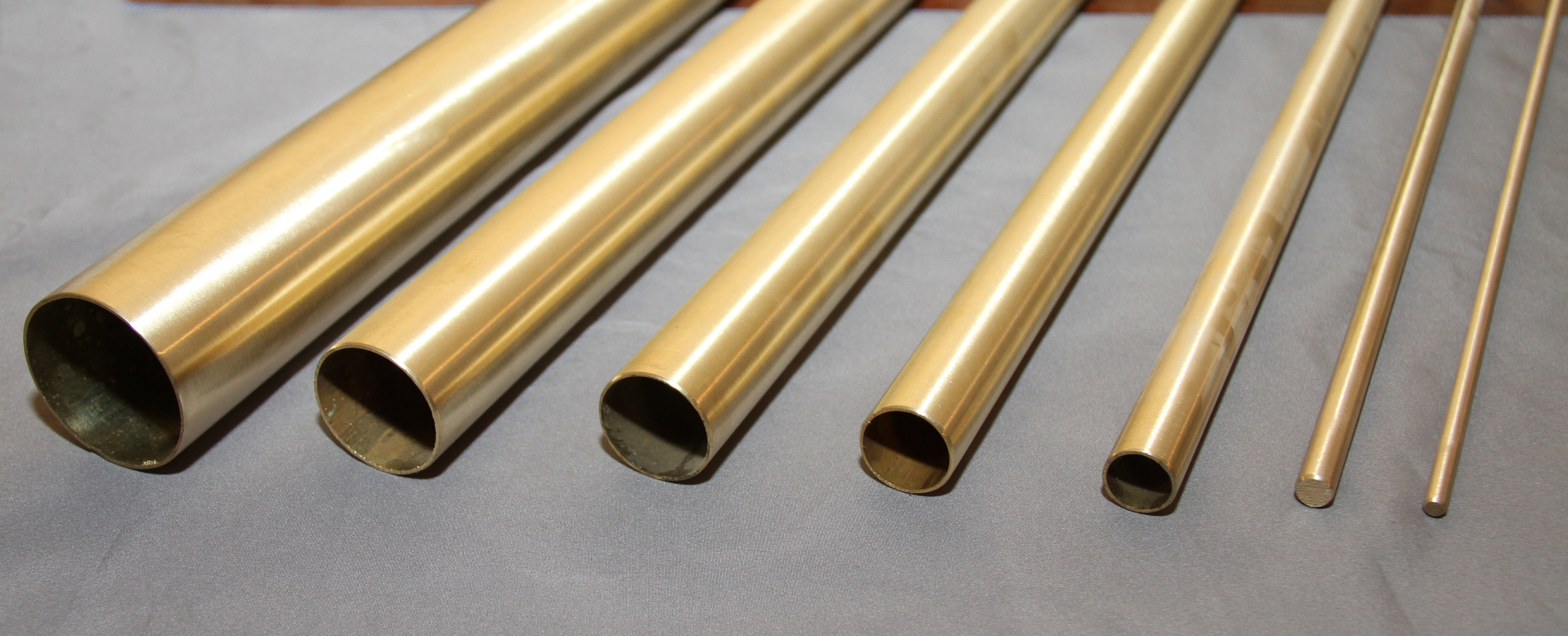 Satin Brass Tube