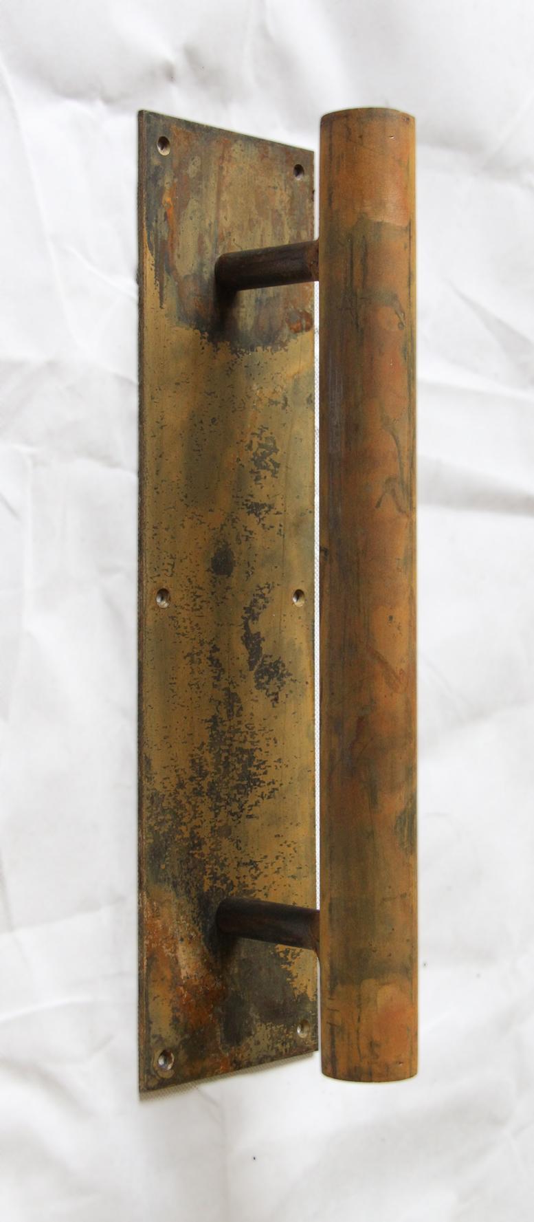 Rusted Steel Handles