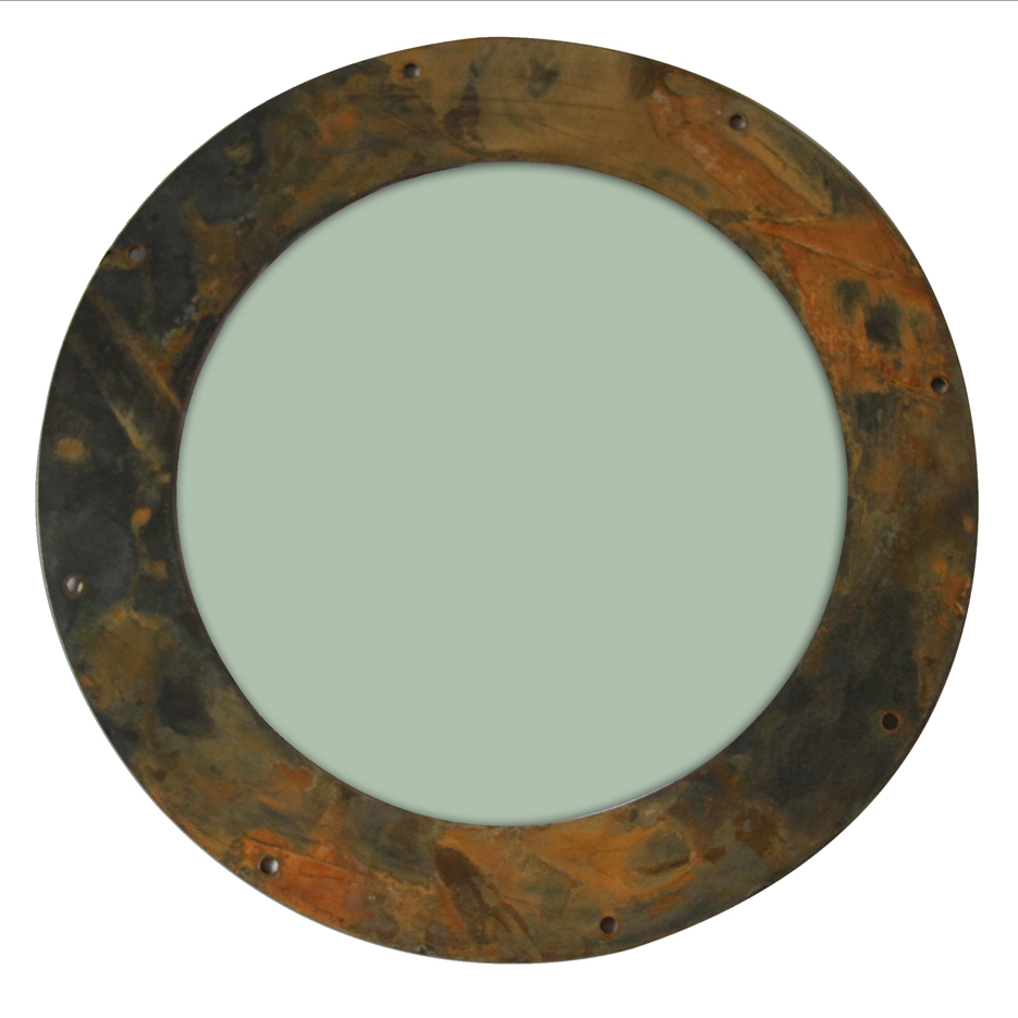 Rusted Steel Portholes