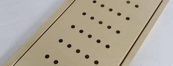Polished Brass Drip Tray