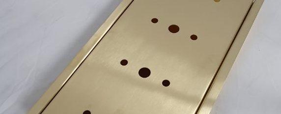Satin Brass Drip Tray