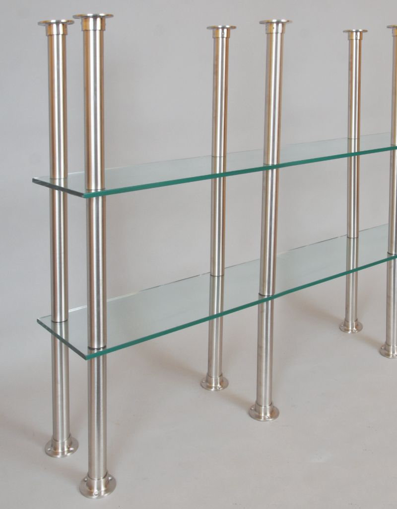 Stainless Steel Glass Shelving Support Posts