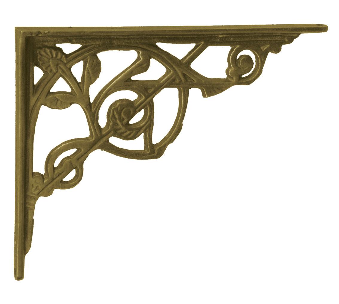 Antique Brass Brackets