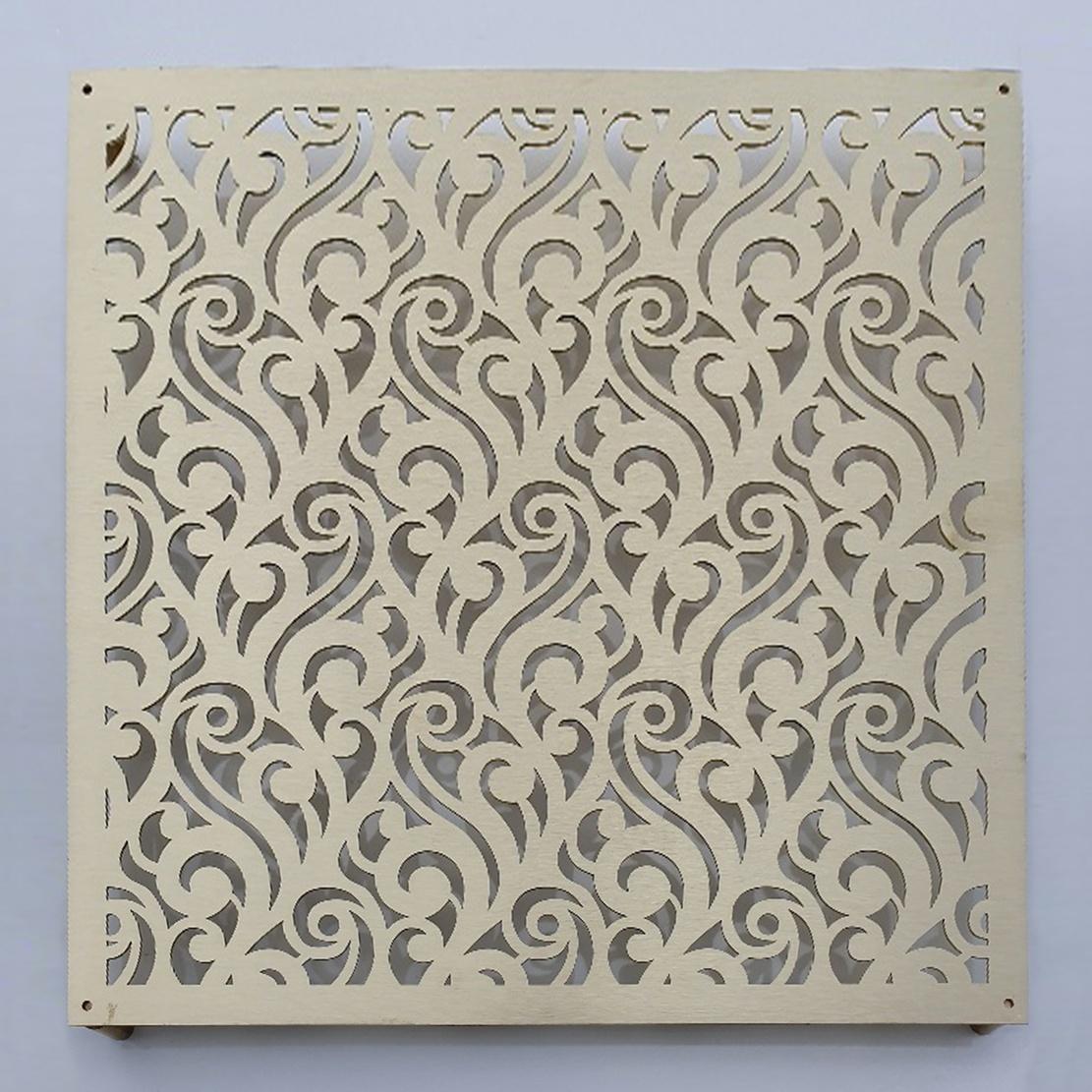 Satin Brass Profiled Panel