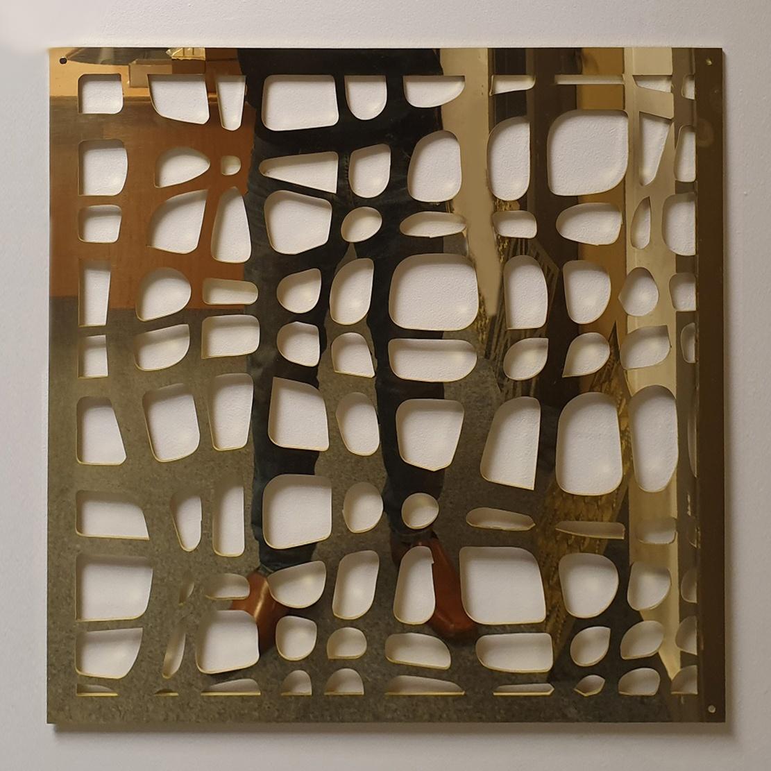 Polished Brass Profiled Panel